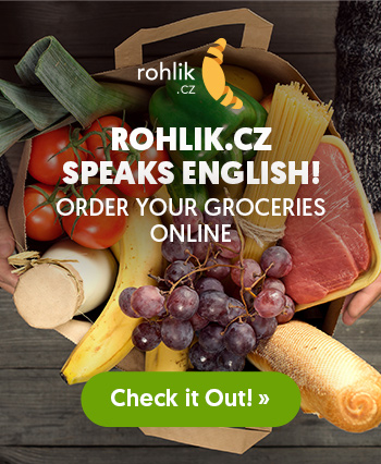 Rohlik Side Banner - Speak English