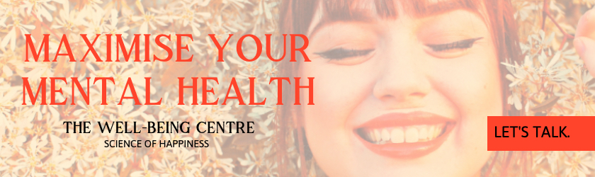 The Well-Being Centre - In-Article Banner