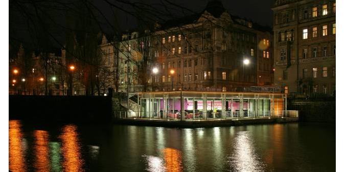 Jazz Dock at Janáčkovo nábřeží