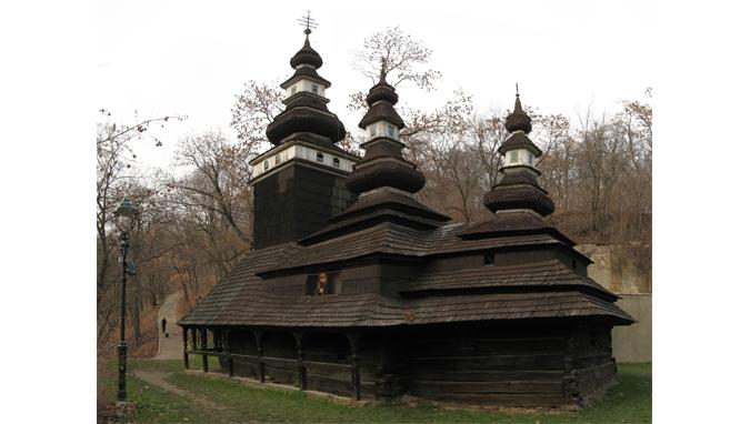 Karpatský chrám sv. archanděla Michaela in Kinský Garden