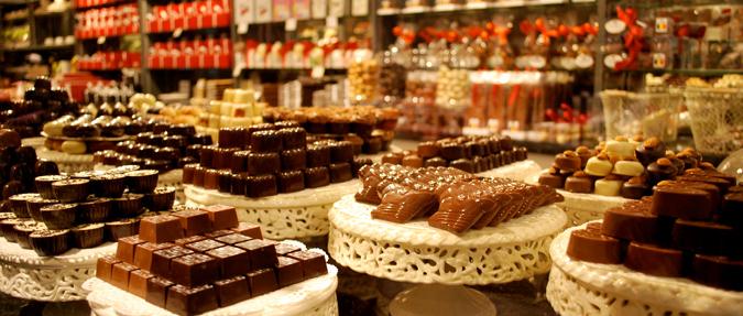 Chocolatiers in Prague