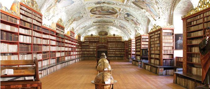 Strahovská knihovna, Prague