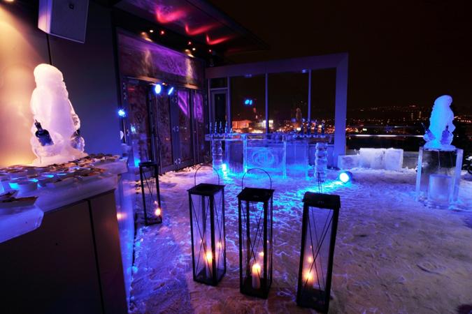 Bar Review: Hilton's Ice Bar