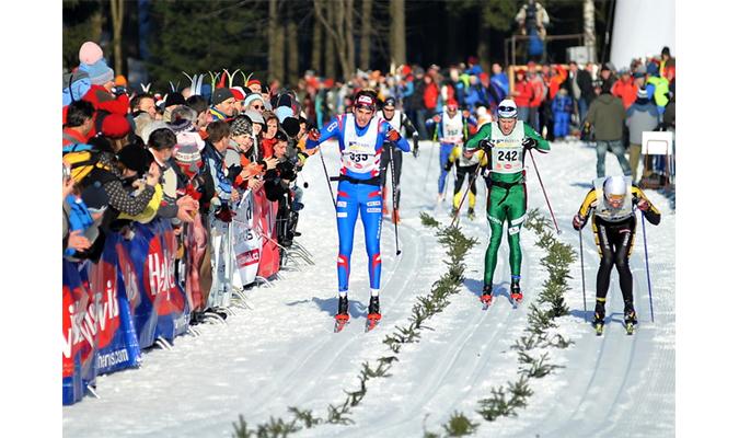 Jizerská 50 cross-country skiers race
