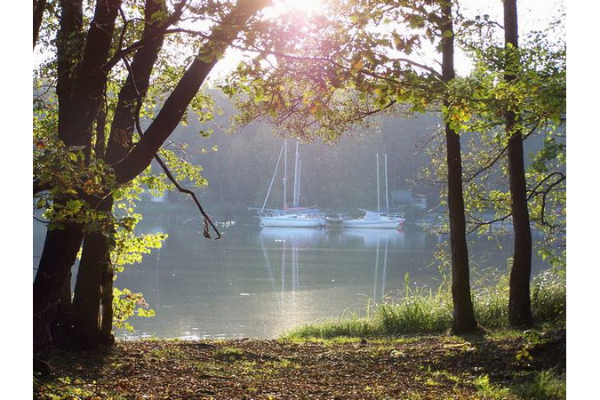 Máchovo jezero (Mácha's Lake)