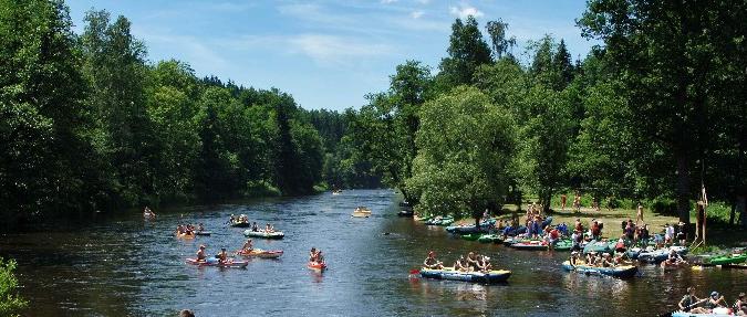 Canoeing in the Czech Republic
