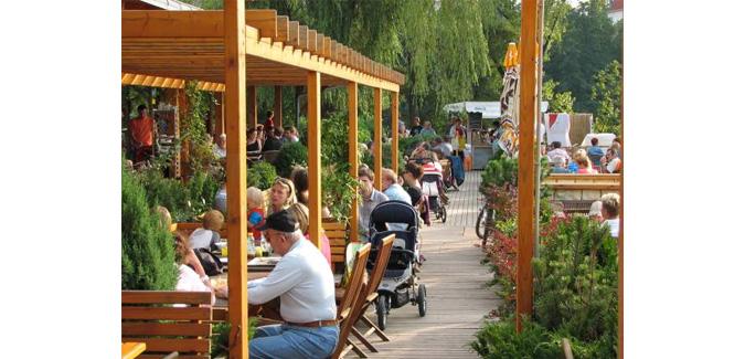 Beer Gardens in Prague
