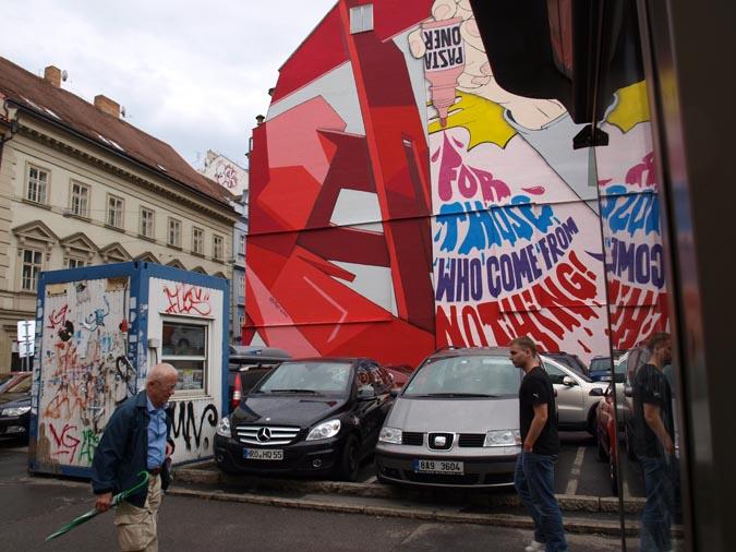 Pasta Oner - High-profile Street Artist