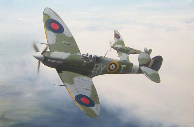 No. 313 Czechoslovak squadron of the RAF