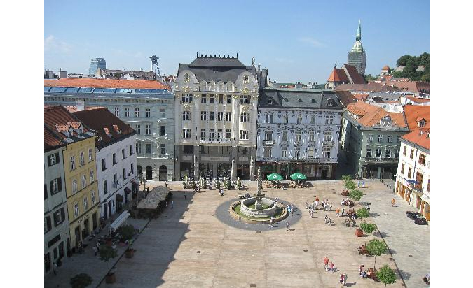View from Old Town Hall
