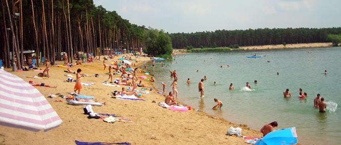 Wild Swimming in a Czech Lake
