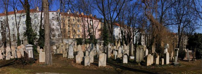 Jewish cemetery in Žižkov