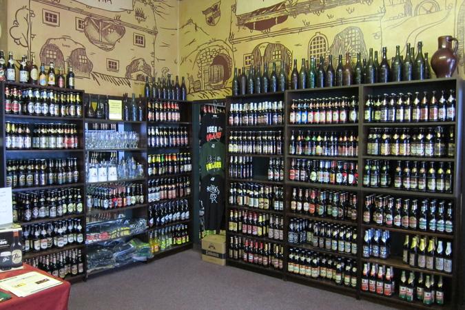 Specialty Beer Stores in Prague