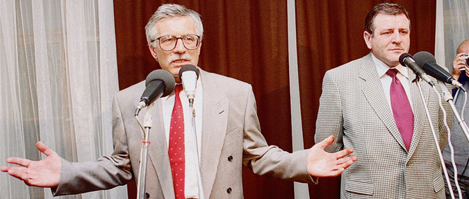 Václav Klaus & Vladimír Mečiar