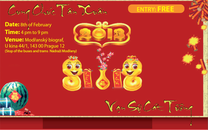 , Vietnamese New Year starts on Feb 10, Expats.cz Latest News & Articles - Prague and the Czech Republic, Expats.cz Latest News & Articles - Prague and the Czech Republic