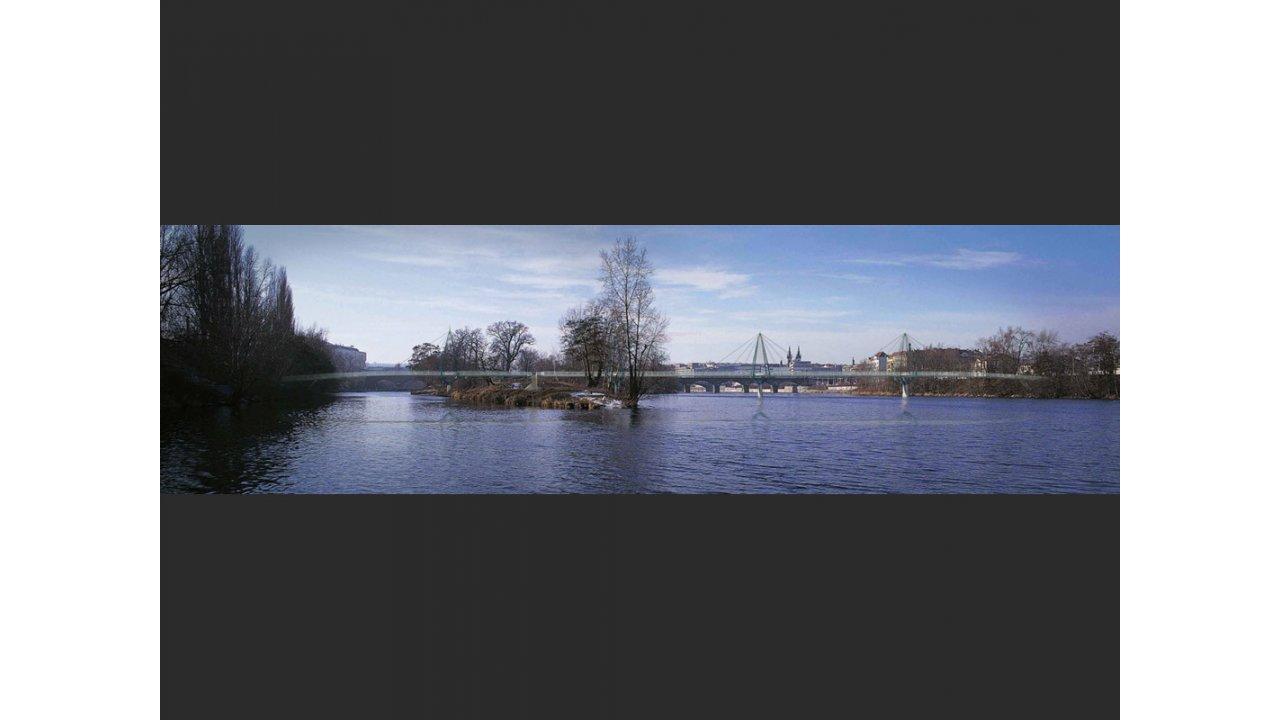Štvanice Footbridge Competition
