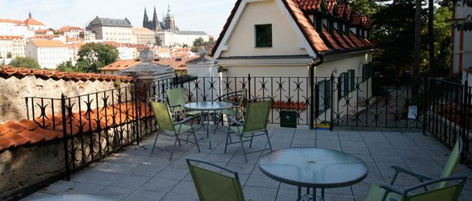 The view from Garden Café Taussig
