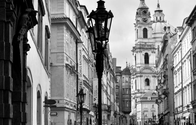Mostecká Street, Ioana Taut