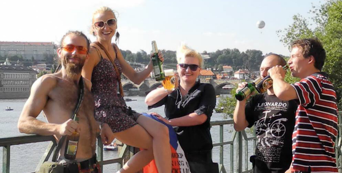 Michaela Rygrova and the Czech CORE team