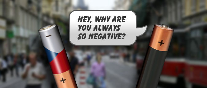 Czech Republic: Second Most Negative Country
