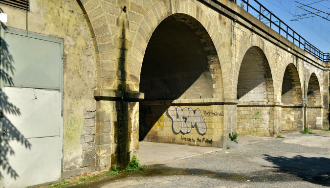 From September 19-21 the Karlín viaduct comes alive