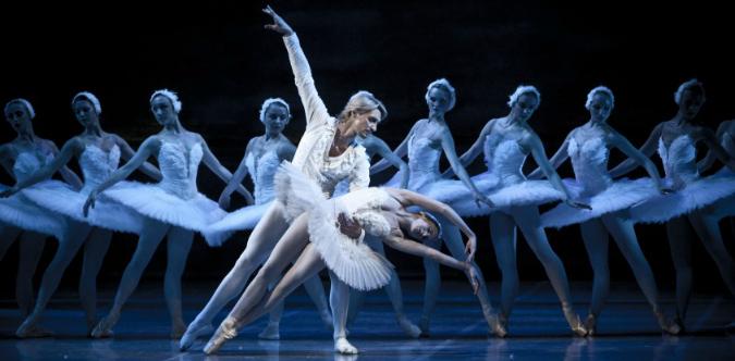 Swan Lake at Národní divadlo