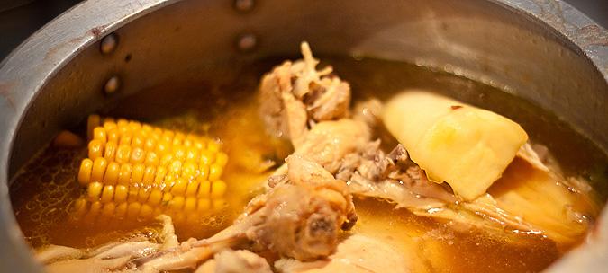 Sancocho Prageño, a hearty Colombian stew