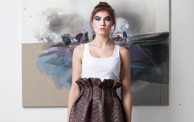 Lu for Mu Tipi winter skirt, 2,100 CZK
