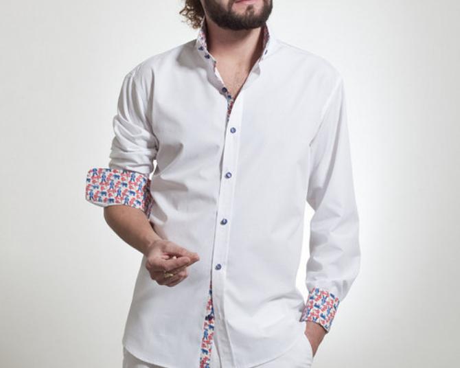 Kristýna K. elegant white shirt, 1,990 CZK