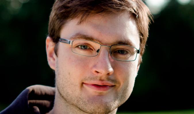Designer and researcher Petr Kosnar
