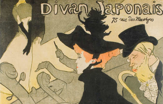 Henri de Toulouse-Lautrec Poster Divan Japonais, 1892