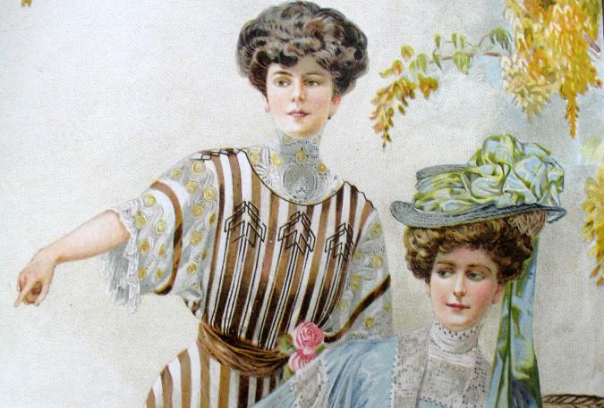 The new Parisian style, 1907