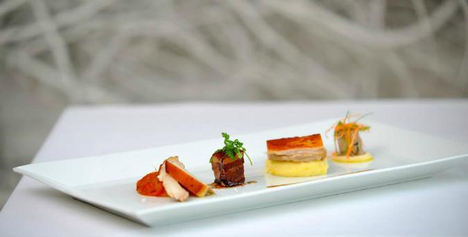 The winter menu at Soho Restaurant