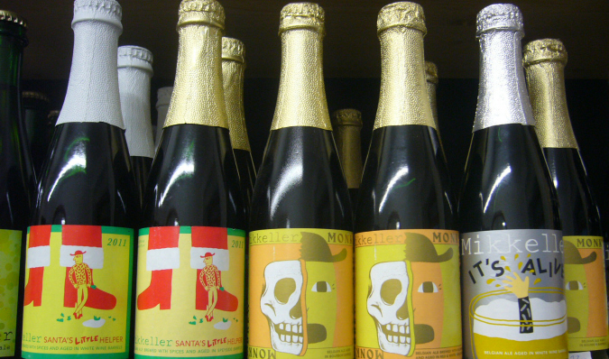 A selection from Danish craft brewer Mikkeller
