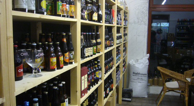 BeerGeek store interior