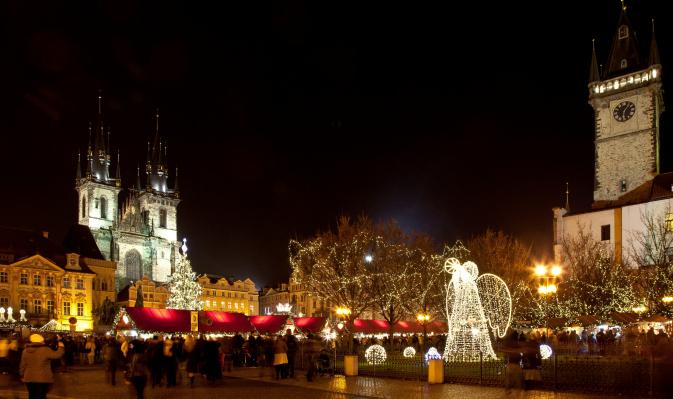 Prague's Christmas markets kick off Nov 30