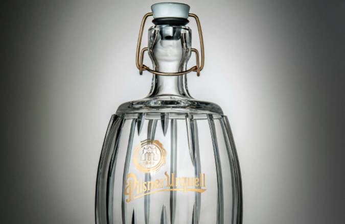 2013 1L glass bottle by Lars Kemper