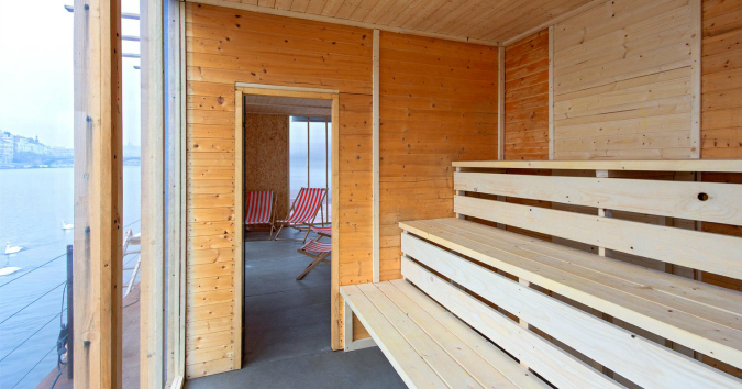 Float On, Bliss Out at New River Sauna