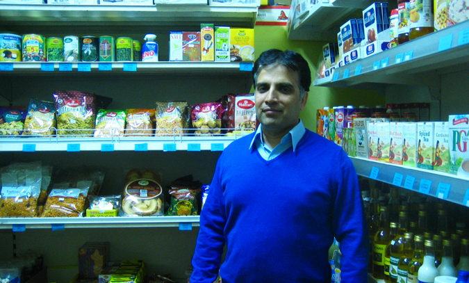 Mr. Rashid, owner of Shalamar Foods