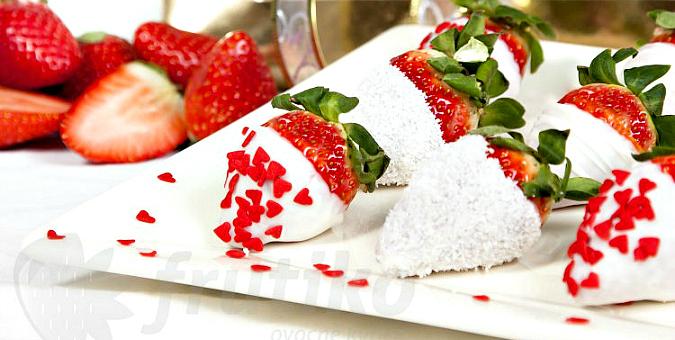 Frutiko's Valentine's Day Strawberries