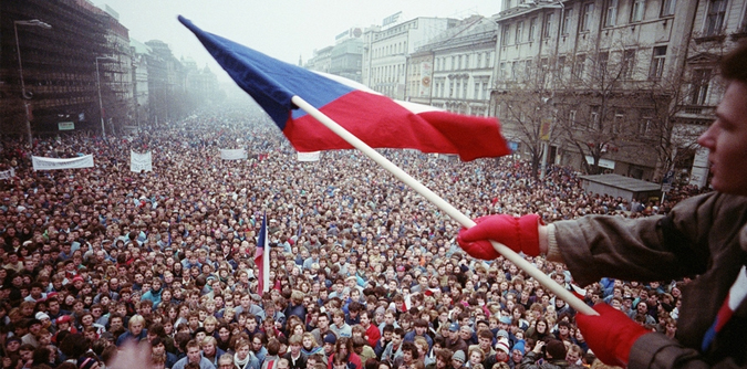 a history of the velvet revolution in czechoslovakia I spent a lot of 1989 in czechoslovakia  there was even a history of resistance to being part of a  it is the czechoslovak velvet revolution,.