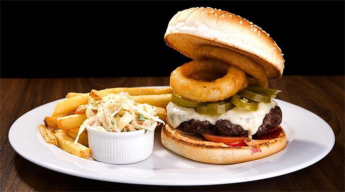 The spicy jalapeño burger