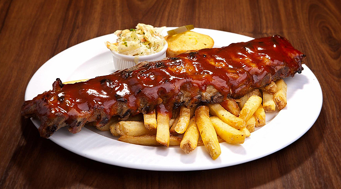 The chef's personal favorite BBQ ribs