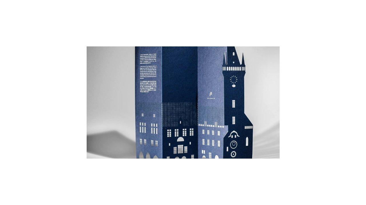 Prague 3D pop-up card by Porigami
