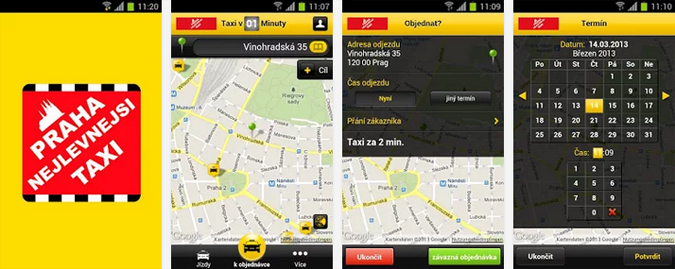 Tried & Tested: 5 Prague Taxi Apps