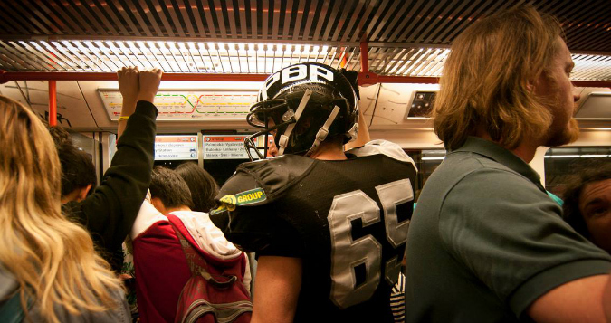 What World Cup? American Football in Prague