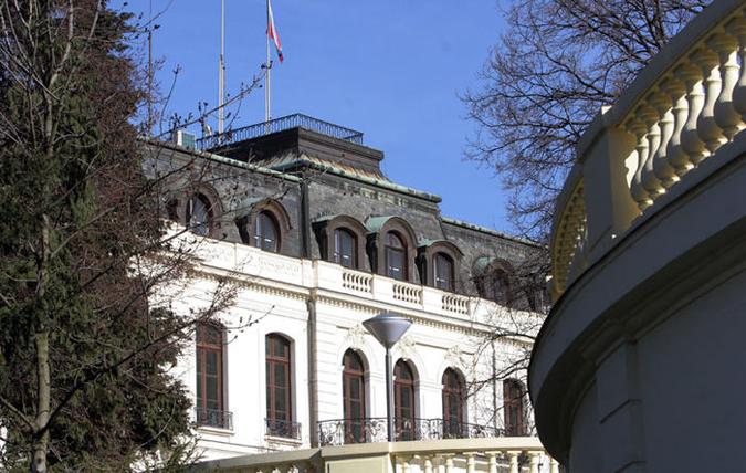 Russian Embassy in Prague
