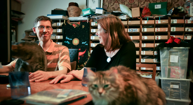 How We Live: Karen Mahony and Alex Ukolov