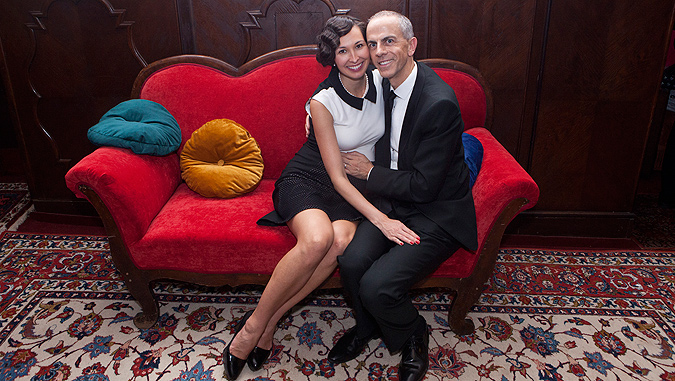 Owner Jean-Christophe Gramont and his wife