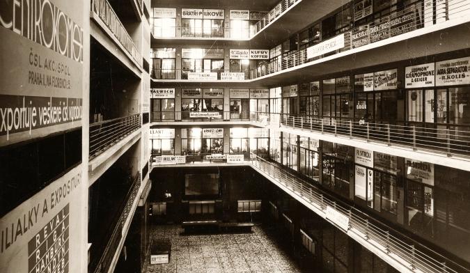 Small hall, 1930s
